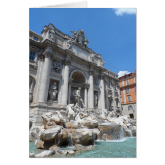 Fuente Roma del Trevi Tarjeta Pequeña