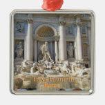Fuente Roma Italia del Trevi Ornamente De Reyes