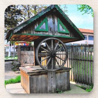 Fuente rural vieja posavasos