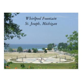 Fuente San José, Michigan MI de Whirlpool Postales