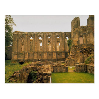 Fuentes abadía, Yorkshire, Reino Unido Tarjetas Postales