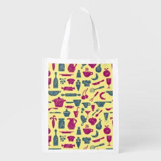 Fuentes de la cocina bolsa reutilizable