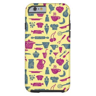 Fuentes de la cocina funda de iPhone 6 tough