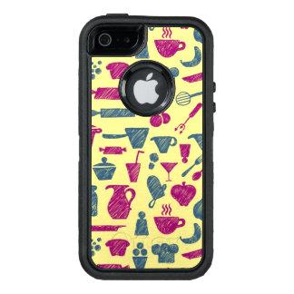 Fuentes de la cocina funda otterbox para iPhone 5/5s/SE