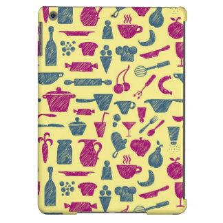 Fuentes de la cocina funda para iPad air