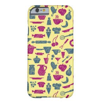 Fuentes de la cocina funda para iPhone 6 barely there