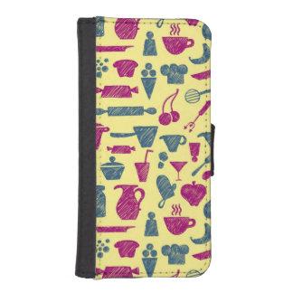 Fuentes de la cocina fundas billetera de iPhone 5