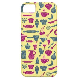 Fuentes de la cocina iPhone 5 funda