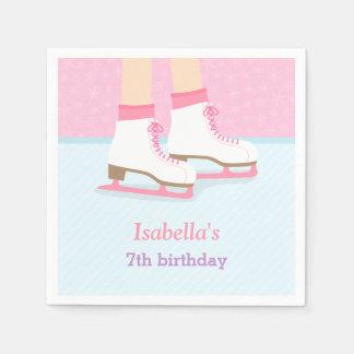 Fuentes de la fiesta de cumpleaños de los chicas servilleta desechable