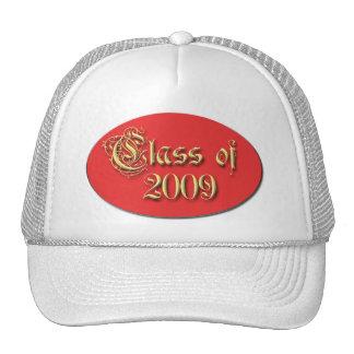 Fuentes de la graduación y camisetas y pegatina de gorras