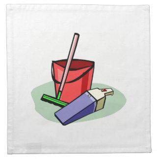 Fuentes de limpieza servilleta