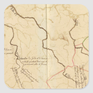 Fuentes de ríos alemanes colcomanias cuadradass