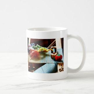 Fuentes del bordado taza clásica