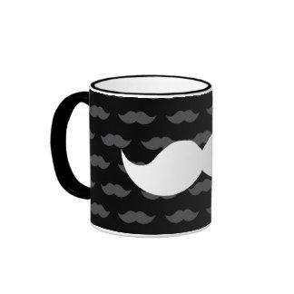Fuentes del fiesta del bigote taza de café