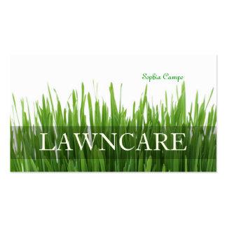 Fuentes frescas de la hierba gardener DIY de PixDe Plantilla De Tarjeta De Visita