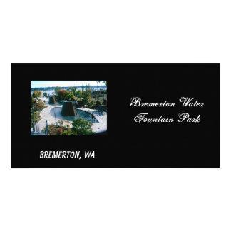 fuentes, parque de la fuente de agua de Bremerton, Tarjetas Personales