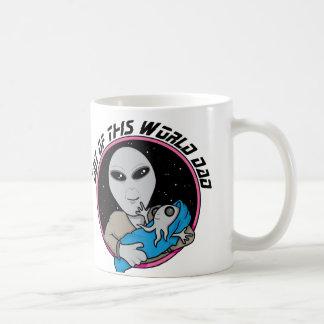 Fuera de este papá del mundo taza de café