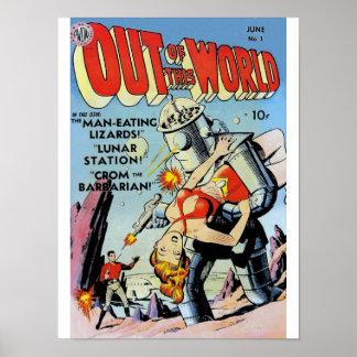 Fuera de este poster del mundo #1 póster