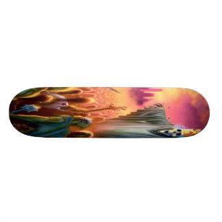 Fuera de infierno suben monopatín skateboard