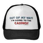 Fuera de mi casino de la manera gorro de camionero