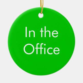 Fuera de oficina/en la muestra de la oficina ornamento para arbol de navidad