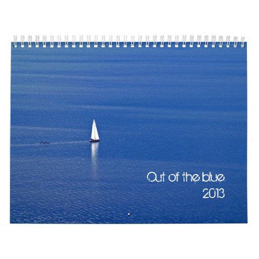 fuera del azul - 2013 calendarios de pared