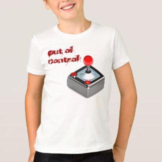 """""""Fuera el juego del control"""" embroma la camiseta"""