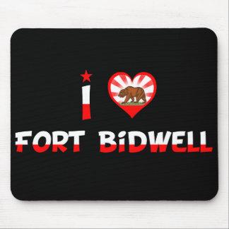 Fuerte Bidwell, CA Alfombrilla De Ratones