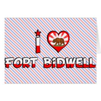 Fuerte Bidwell, CA Felicitaciones