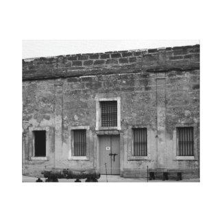 Fuerte Castillo de San Marcos de St Augustine Impresion En Lona
