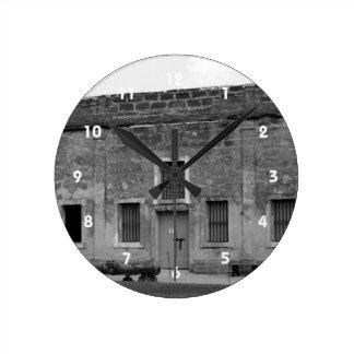 Fuerte Castillo de San Marcos de St Augustine Reloj Redondo Mediano