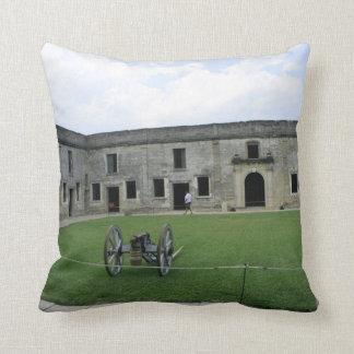 Fuerte Castillo de San Marcos II de St Augustine Cojines