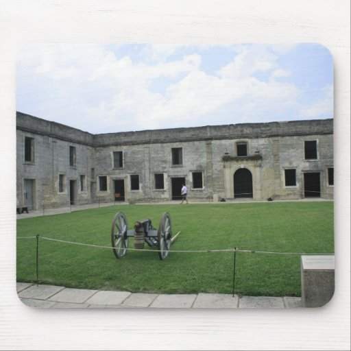 Fuerte Castillo de San Marcos II de St Augustine Tapetes De Raton