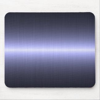 fuerte cepillada azul tapete de ratón