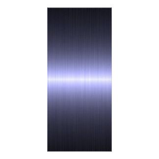 fuerte cepillada azul tarjeta publicitaria a todo color