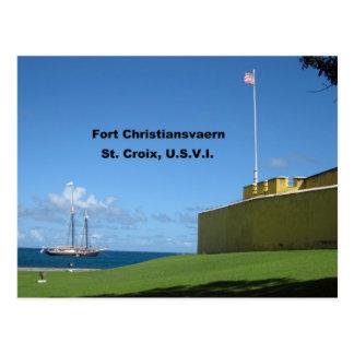 Fuerte Christiansvaern, St. Croix Tarjetas Postales