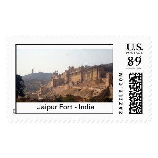 Fuerte de Jaipur Estampillas