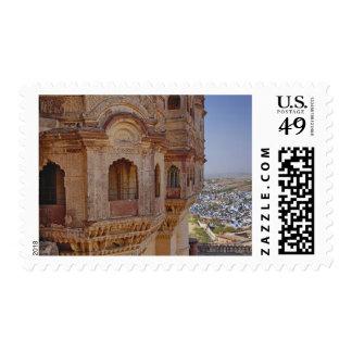 Fuerte de Mehrangarh que se eleva sobre Jodhpur e