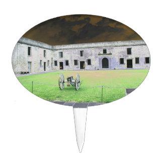 Fuerte de St Augustine que solarized Palillos De Tarta