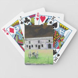 Fuerte de St Augustine que solarized Baraja Cartas De Poker