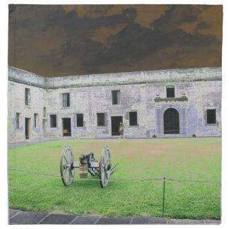 Fuerte de St Augustine que solarized Servilleta De Papel