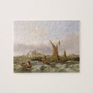 Fuerte del tilburí - viento contra la marea, 1853  rompecabeza