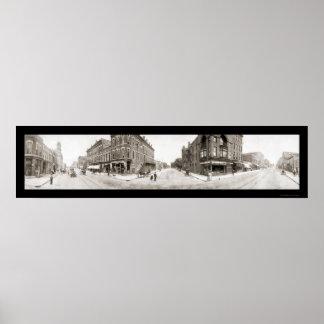 Fuerte Dodge, foto 1907 de IA Poster