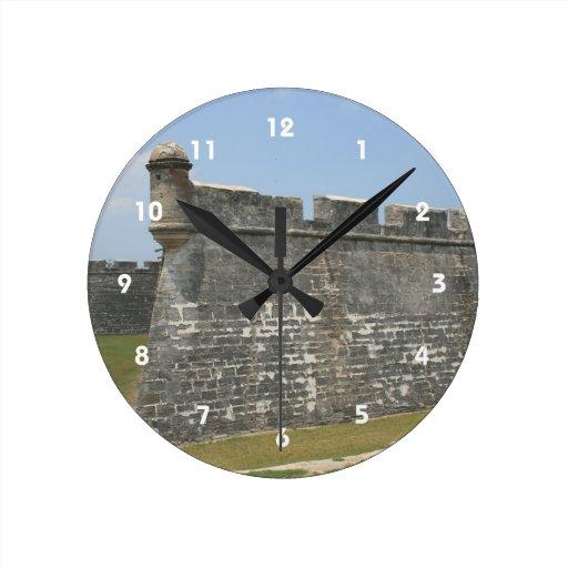 Fuerte en la opinión de la esquina de St Augustine Reloj