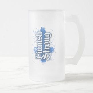 Fuerte finlandés taza de cristal