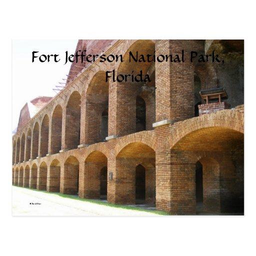 Fuerte Jefferson Tarjeta Postal