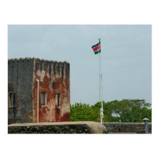 Fuerte Jesús 2 Mombasa, Kenia, la África del Este Tarjetas Postales