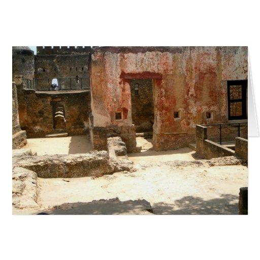 Fuerte Jesús 3 Mombasa, Kenia, la África del Este Tarjeton