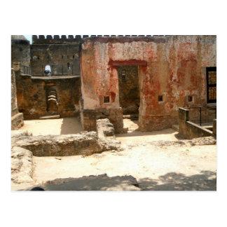 Fuerte Jesús 3 Mombasa, Kenia, la África del Este Postales
