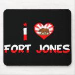 Fuerte Jones, CA Alfombrillas De Ratones